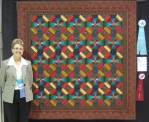 221B-Patty Showen-Never Say Never-1-Best Hand Quilting Award, 2nd Place Pieced, Single Quilt Maker