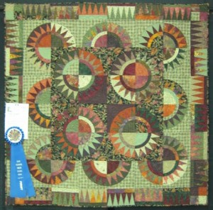 308A-Susan Schering-Tequila Sunrise-1-1st Place Pieced, Collaborative